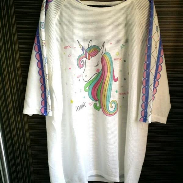 Brand New Plus Size Unicorn Top, Women's Fashion, Clothes, Tops On