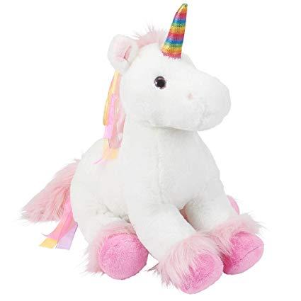 Buy Toys R Us Plush 18 Inch Rainbow Unicorn