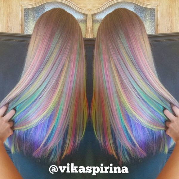 Crazy Rainbow Hairstyles!