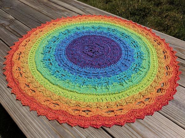 Crochet Unicorn Mandala Cal