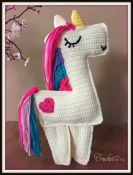 Crochet Unicorn Ragdoll Unicorn Rag Doll Unicorn, Crochet Unicorn