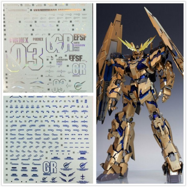 D L High Quality Magic Color Decal Water Paste For Bandai Pg