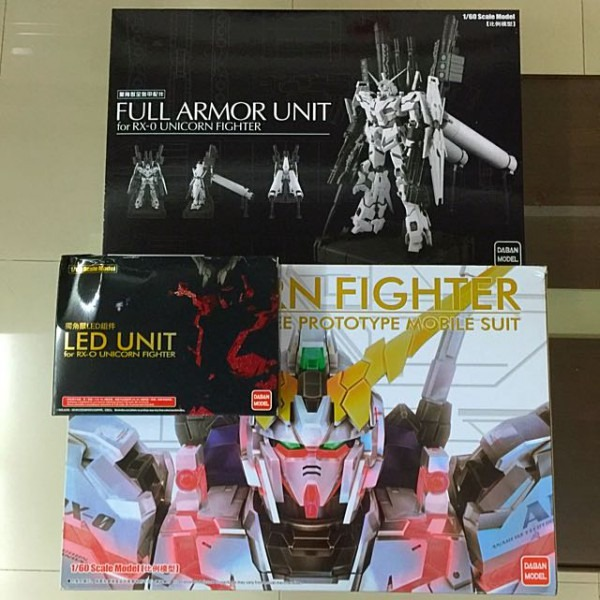 Daban Pg Gundam With Led, Full Armor Unit And Waterslide Decals