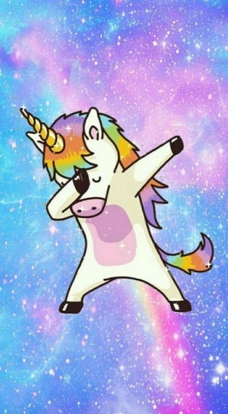 Dabbing Unicorn Wallpapers