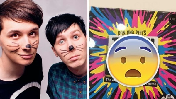 Dan And Phil's New Board Game Just Leaked And The Pictures Look