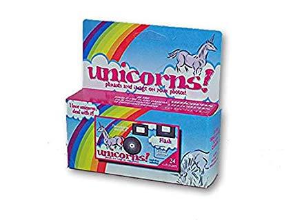 Disposable 24 Exposure Unicorns Camera  Amazon Co Uk  Kitchen & Home