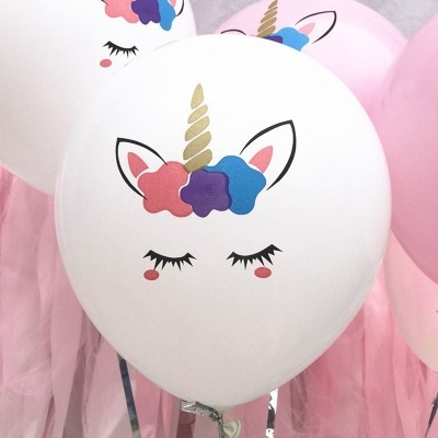 Dropshipping For Color Thickened Unicorn Latex Balloon To Sell