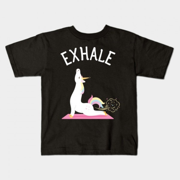 Exhale Yoga Unicorn Yogi