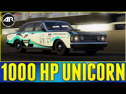 Forza 6 Online   1000 Horsepower Ford Falcon Xy Test Drive