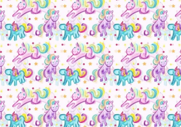 Free Vector Unicorn Pattern