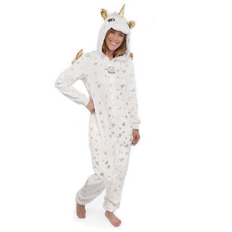 George Ladies' Hooded Unicorn Onesie