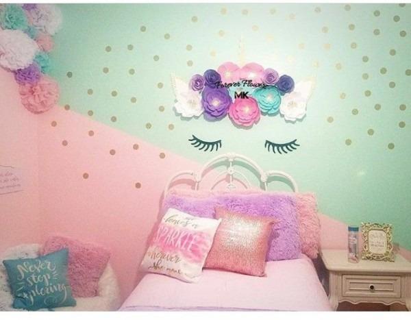 Girls Unicorn Bedroom