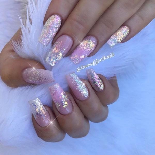 ✨glitter Heaven✨ Nails By Jess! Glitter Supplied By