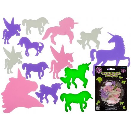 Glow In The Dark Unicorn Stickers