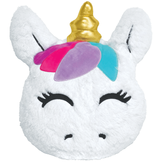 Goldie Unicorn Scented Furry Pillow