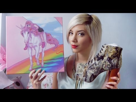 Jeffrey Campbell Cat Tapestry Lita Shoe Unboxing