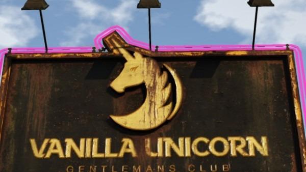 Just Noticed Vanilla Unicorn Logo Was A Crescent    Chiliadmystery