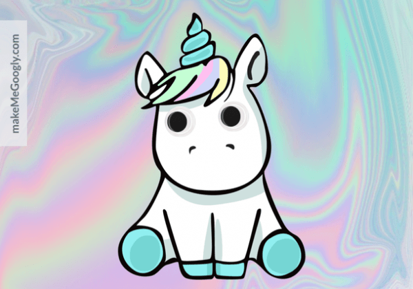 Kawaii Derpy Unicorn