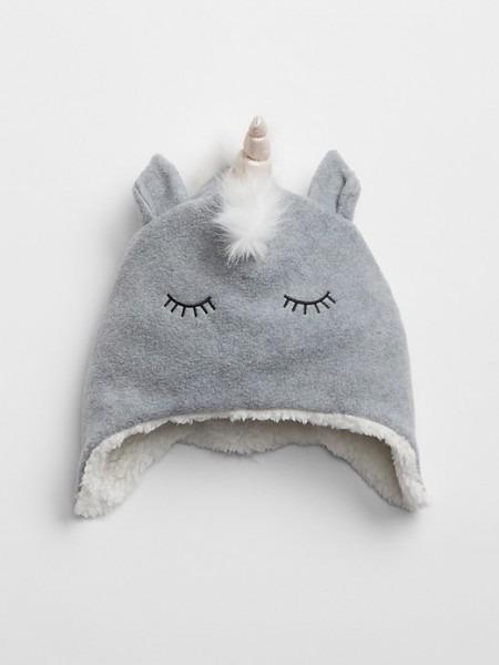 Kids Unicorn Trapper Hat