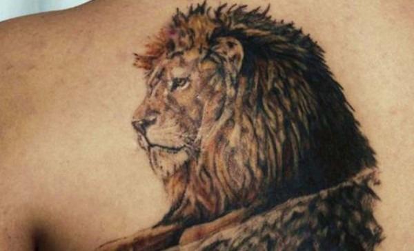 Lion And Unicorn Tattoo