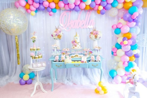 Mystical And Magical Unicorn Birthday Party