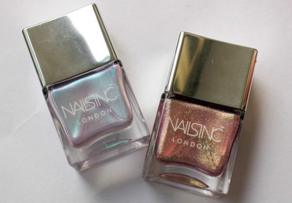 Nails Inc Sparkle Like A Unicorn Nail Polish Duo Kit Review
