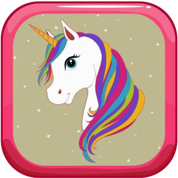 New  Ios  App Paint Tiny Unicorn Games Coloring Pages