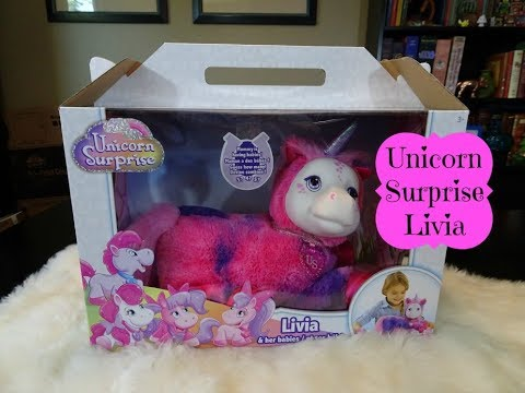 New Unicorn Surprise Doll Livia Unboxing & Review