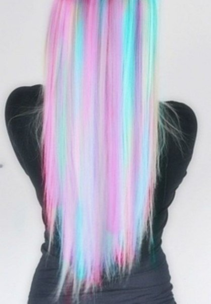 Pastel Unicorn Hair