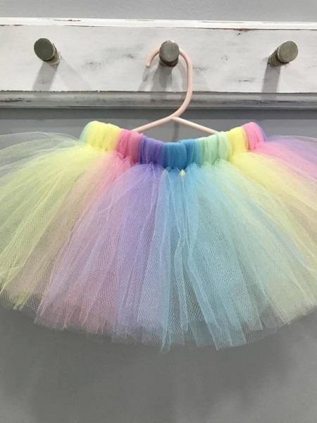 Pastel Unicorn Tutu Skirt Baby