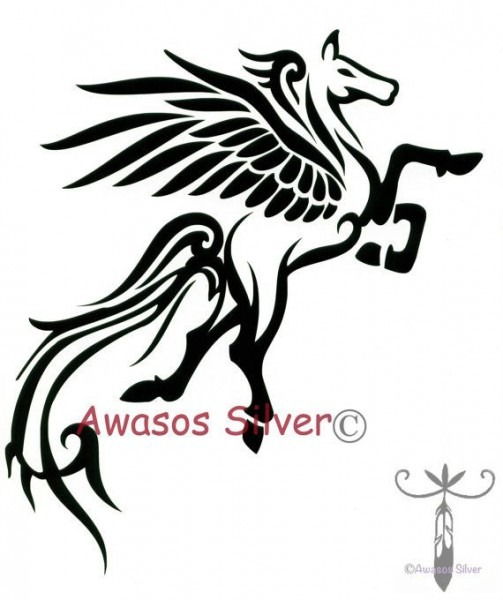 Pegasus Decal By Newd On Etsy, $12 00