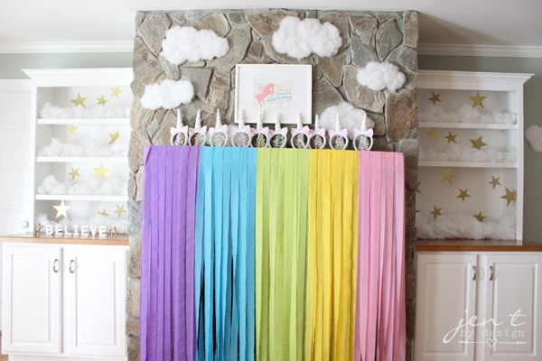 Personalized Unicorn Party Sign — Jen T  By Design