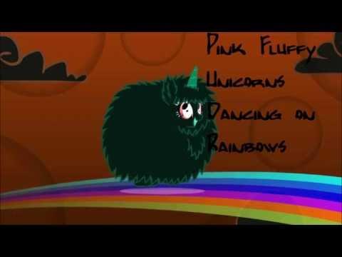 Pink Fluffy Unicorns Horror Remix
