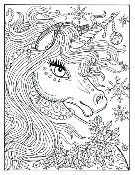 Printable Unicorn Coloring Pages Free Colouring Sheets Print Color