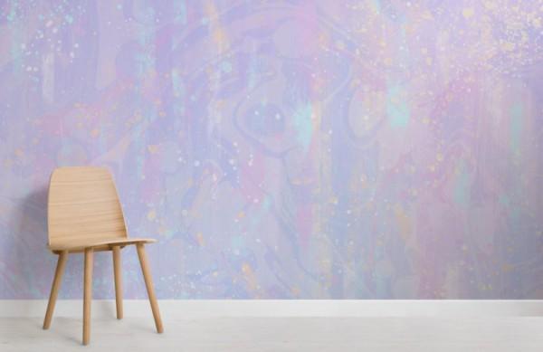 Purple Unicorn Wallpaper