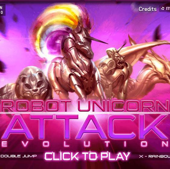 Robot Unicorn Attack Evolution Gets Better, Stronger, Faster On