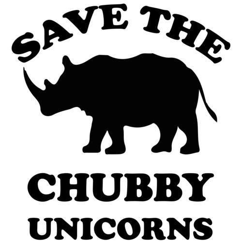 Save The Chubby Unicorns T