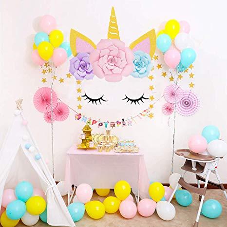 Sayala Unicorn Party Decorations