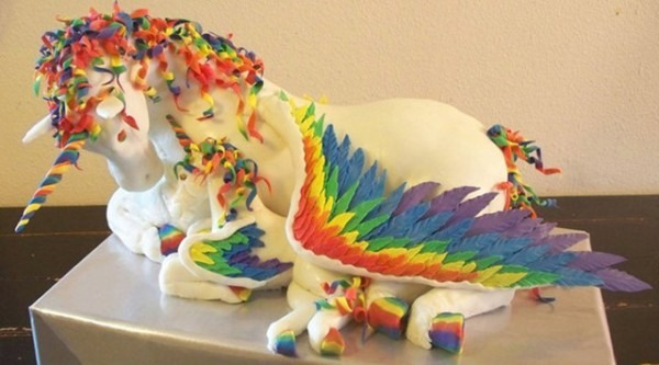 Spaceships And Spice  Fantastic Rainbow Unicorn