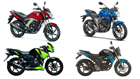 Spec Comparison  Honda Cb Unicorn 160 Vs Suzuki Gixxer Vs Yamaha