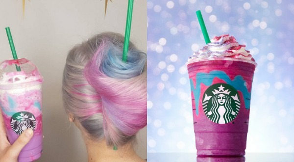 Starbucks Unicorn Frappuccino Hair Gets Transformed Into Hair