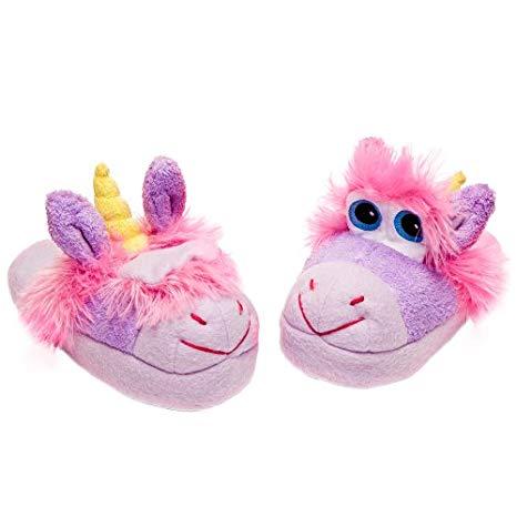 Stompeez Slippers Unusual Unicorn Size Medium, Purses