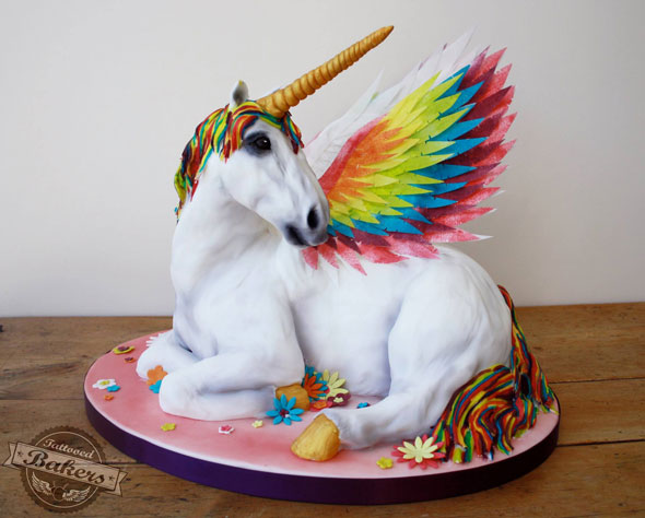 The Greatest Pegacorn Cake That You'll See Today