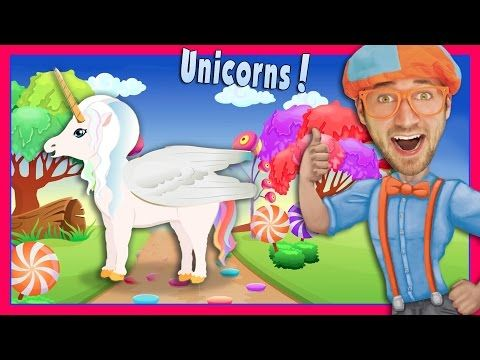 The Unicorn Song By Blippi