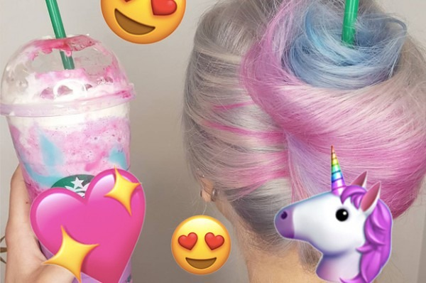 This Woman Created Unicorn Frappuccino Hair And It Looks Delicious