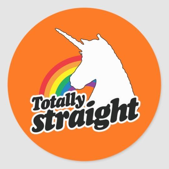 Totally Straight Unicorn