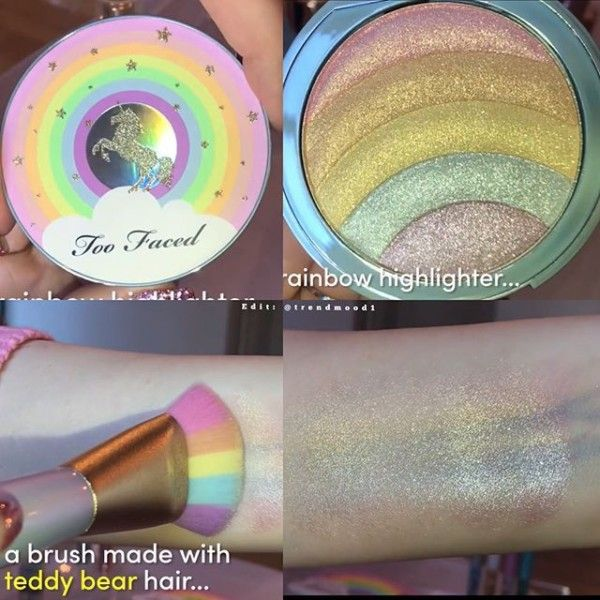 Two Faced Makeup Unicorn Highlighter  Unicorn