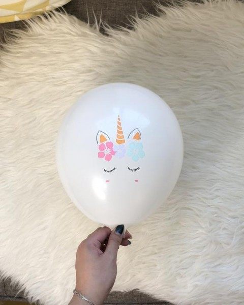 Unicorn Balloons  Unicorn Latex Balloons  Unicorn Birthday