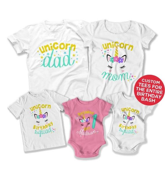 Unicorn Birthday Party Ideas First Birthday Girl 1st Birthday