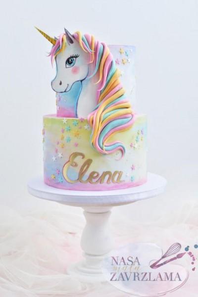 Unicorn Cake By Nasa Mala Zavrzlama En 2019